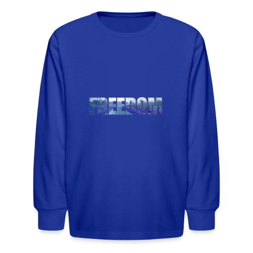 Freedom Photography Style - Kids' Long Sleeve T-Shirt