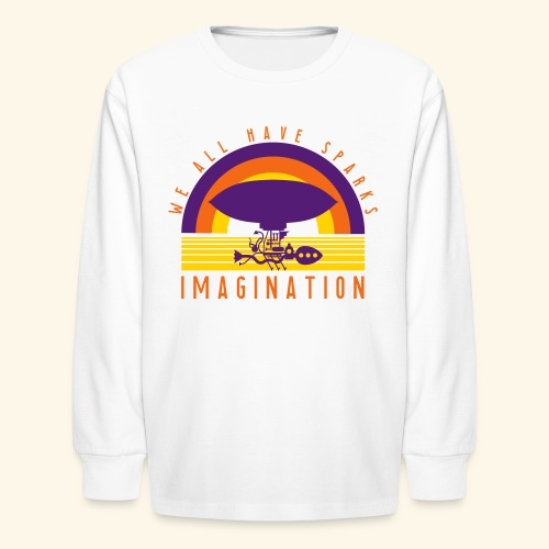 We All Have Sparks - Kids' Long Sleeve T-Shirt