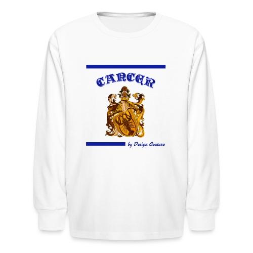 CANCER BLUE - Kids' Long Sleeve T-Shirt