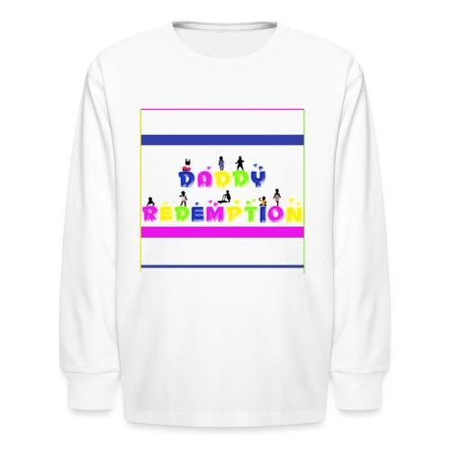 DADDY REDEMPTION T SHIRT TEMPLATE - Kids' Long Sleeve T-Shirt