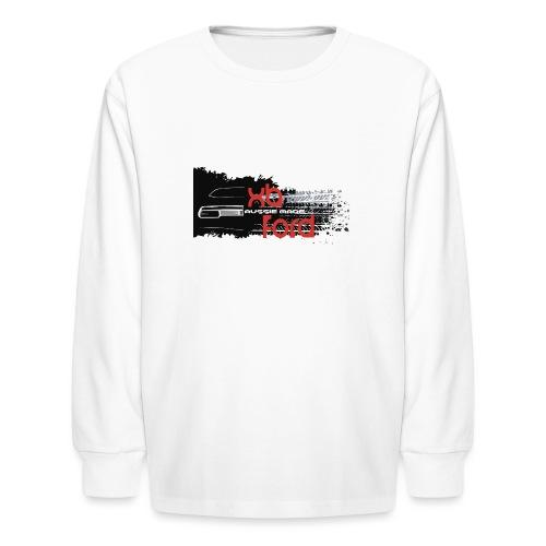 XB Coupe skid - Kids' Long Sleeve T-Shirt