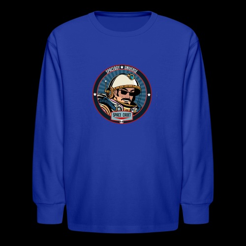 Spaceboy - Space Cadet Badge - Kids' Long Sleeve T-Shirt