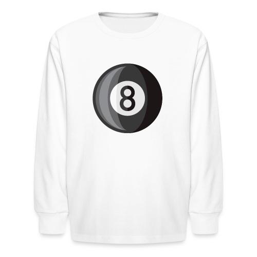 8 Ball - Kids' Long Sleeve T-Shirt