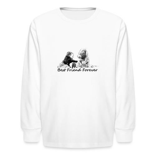 Best Friend Forever (boy) - Kids' Long Sleeve T-Shirt