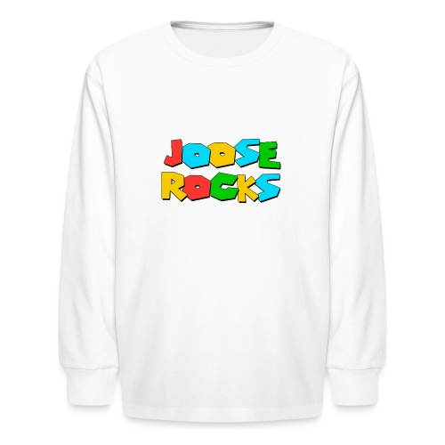 Super Joose Rocks - Kids' Long Sleeve T-Shirt
