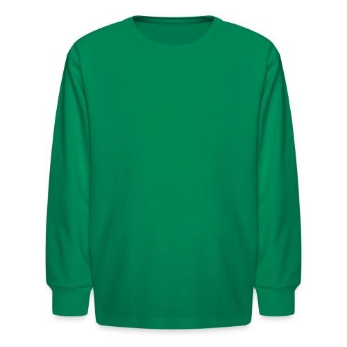 Bald Eagle State Forest Keystone (w/trees) - Kids' Long Sleeve T-Shirt