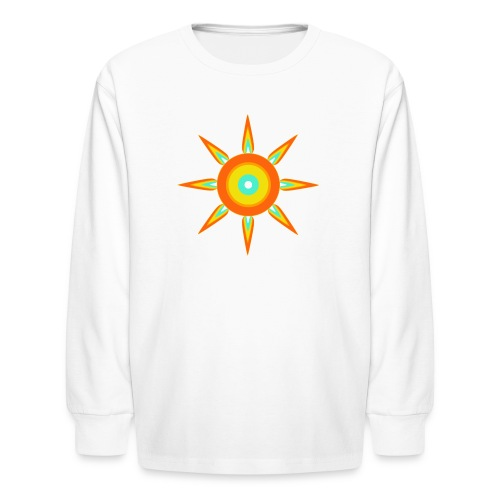 Indian style star - Kids' Long Sleeve T-Shirt