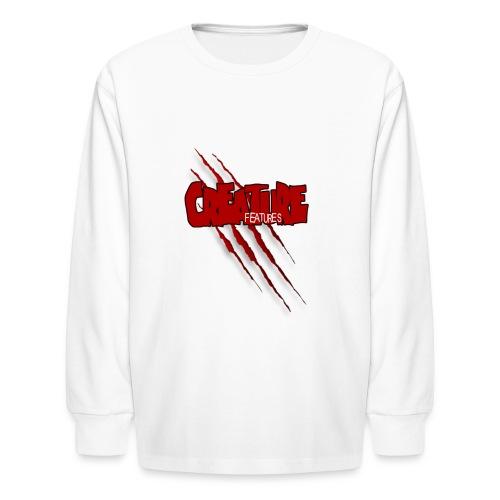 Creature Features Slash T - Kids' Long Sleeve T-Shirt