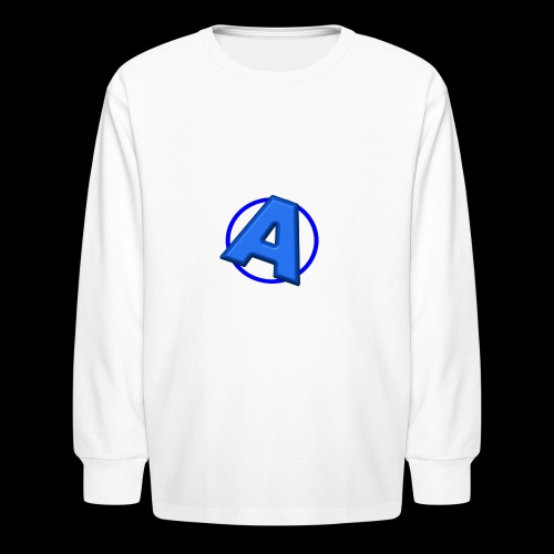 Awesomegamer Logo - Kids' Long Sleeve T-Shirt