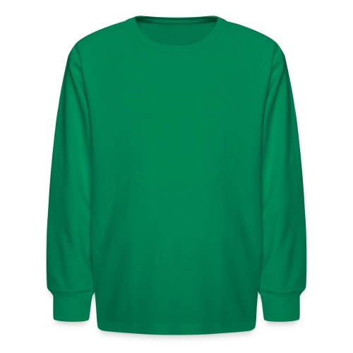 Delaware State Forest Keystone (w/trees) - Kids' Long Sleeve T-Shirt