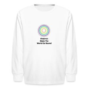 Chakra - Kids' Long Sleeve T-Shirt