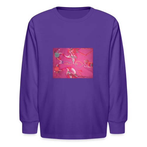 Drinks - Kids' Long Sleeve T-Shirt