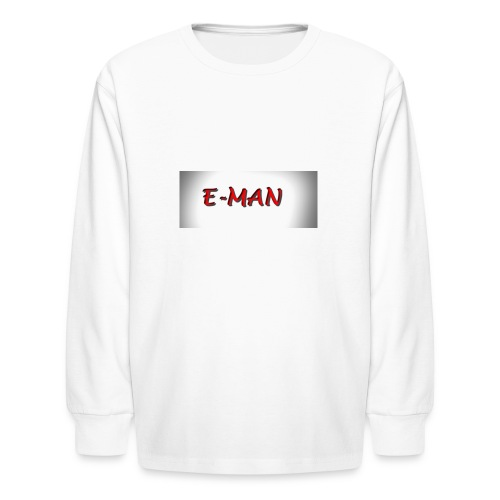 E-MAN - Kids' Long Sleeve T-Shirt