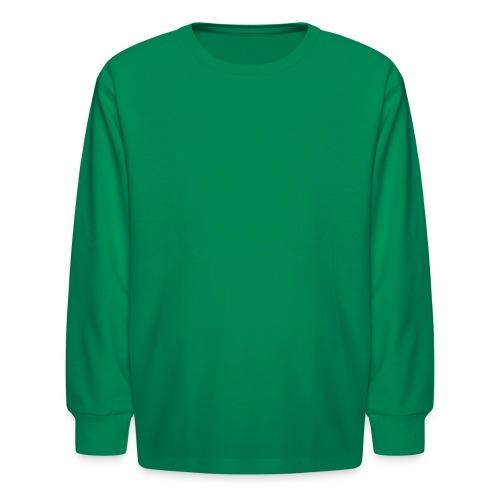 Gallitzin State Forest Keystone (w/trees) - Kids' Long Sleeve T-Shirt