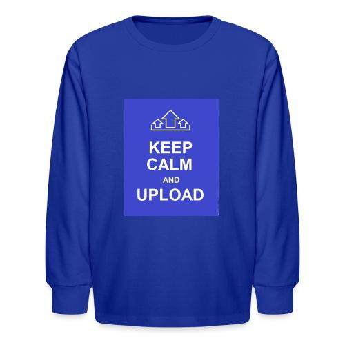 RockoWear Keep Calm - Kids' Long Sleeve T-Shirt