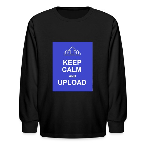 RockoWear Keep Calm - Kids' Long Sleeve T-Shirt