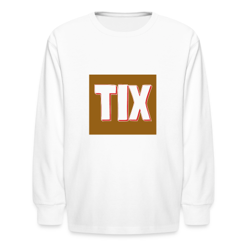 TIX Kid's T Shirt - Kids' Long Sleeve T-Shirt