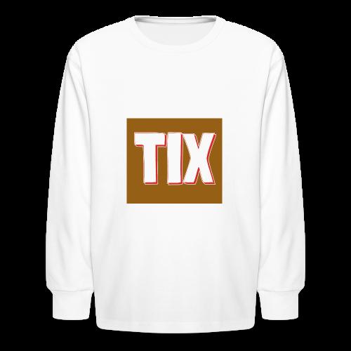 TIX Kid's T Shirt - Kids' Long Sleeve T-Shirt
