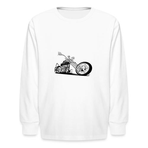 Custom American Chopper Motorcycle - Kids' Long Sleeve T-Shirt