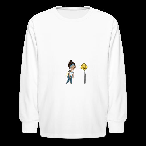 Monday's be like... - Kids' Long Sleeve T-Shirt