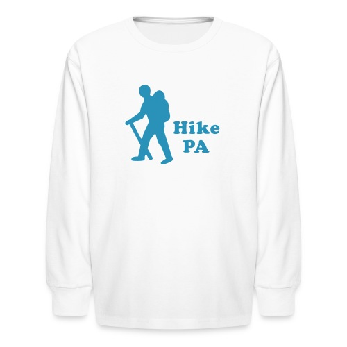 Hike PA Guy - Kids' Long Sleeve T-Shirt