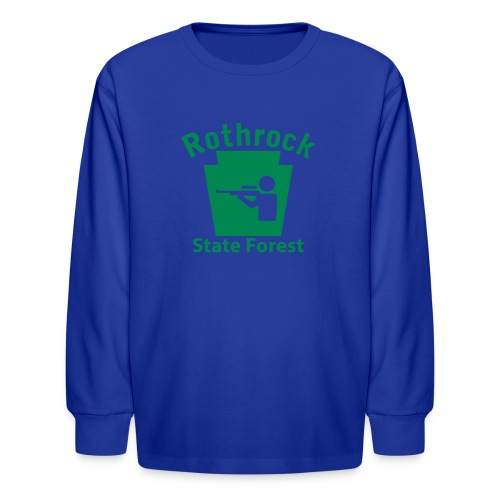 Rothrock State Forest Hunting Keystone PA - Kids' Long Sleeve T-Shirt