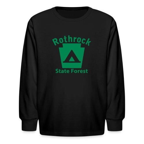 Rothrock State Forest Camping Keystone PA - Kids' Long Sleeve T-Shirt