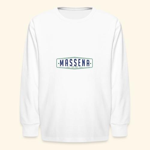 Massena Plate - Kids' Long Sleeve T-Shirt