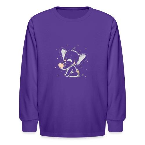 Baby elephant - Kids' Long Sleeve T-Shirt