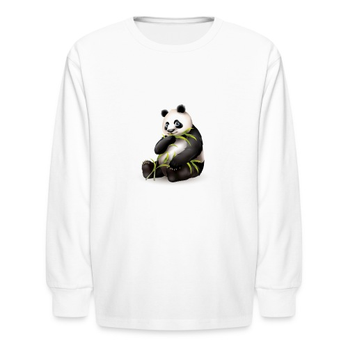 Hungry Panda - Kids' Long Sleeve T-Shirt