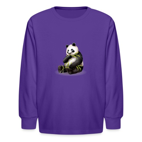 Hungry Panda - Kids' Long Sleeve T-Shirt