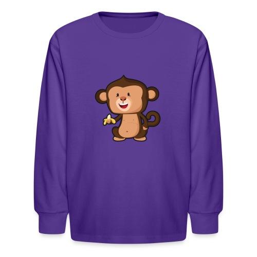 Baby Monkey - Kids' Long Sleeve T-Shirt