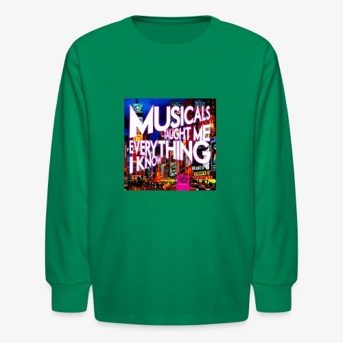 MTMEIK Cover - Kids' Long Sleeve T-Shirt