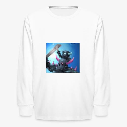 .P.E.K.K.A. & Mini P.E.K.K.A. - Kids' Long Sleeve T-Shirt