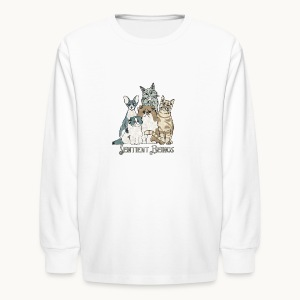 CATS - SENTIENT BEINGS - Carolyn Sandstrom - Kids' Long Sleeve T-Shirt