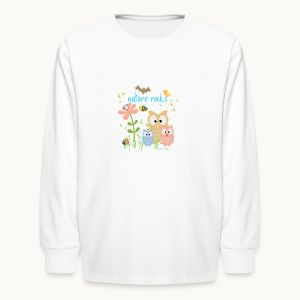 NATURE ROCKS CHILDREN Carolyn Sandstrom THR - Kids' Long Sleeve T-Shirt