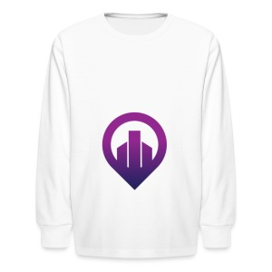 City - Kids' Long Sleeve T-Shirt