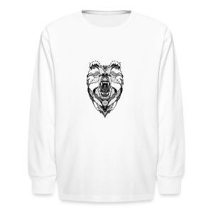 Bear Graphic Valar - Kids' Long Sleeve T-Shirt