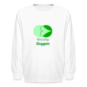 Worship Oxygen - Kids' Long Sleeve T-Shirt