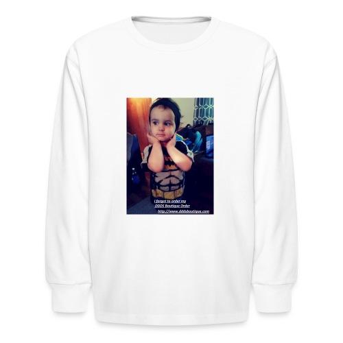 DDDs Boutique Merch - Kids' Long Sleeve T-Shirt