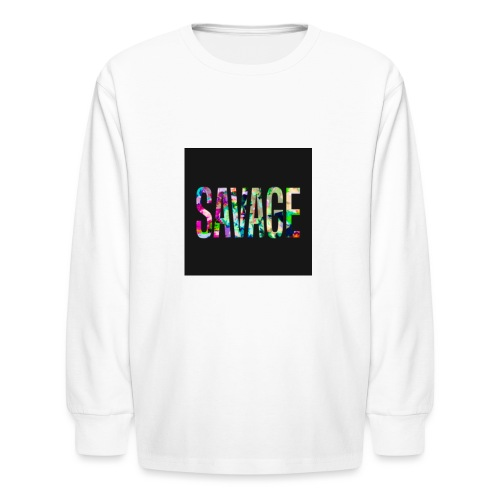 Savage Wear - Kids' Long Sleeve T-Shirt