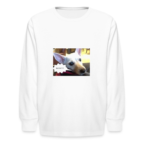 I smell bacon - Kids' Long Sleeve T-Shirt