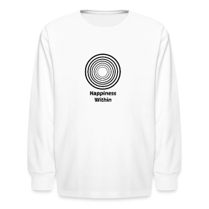 Happiness Within - Kids' Long Sleeve T-Shirt