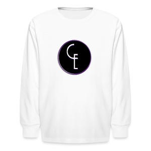 CE Logo - Kids' Long Sleeve T-Shirt