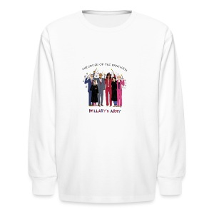 The Order of the Pantsuits: Hillary's Army - Kids' Long Sleeve T-Shirt