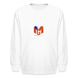 MaddenGamers MG Logo - Kids' Long Sleeve T-Shirt