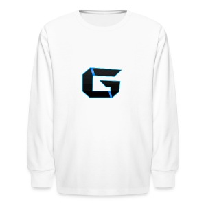 Gemicloud Logo - Kids' Long Sleeve T-Shirt