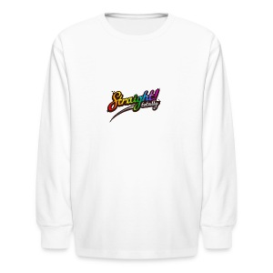 Totally Straight - Kids' Long Sleeve T-Shirt
