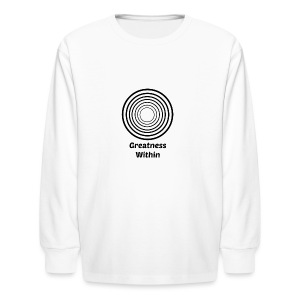 Greatness Within - Kids' Long Sleeve T-Shirt