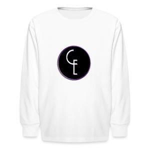 CE Logo - Kids' Long Sleeve T-Shirt